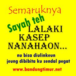 DP BBM Bahasa Sunda Terbaru Lucu