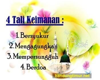 iman, keimanan, hidayah, 4 tali keimanan